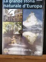 DVD film documentario LA GRANDE STORIA NATURALE D'EUROPA 3 miliardi di anni fa