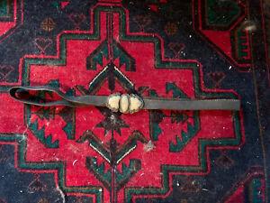 Antique Imperial Silver Russian Kindjal Dagger Belt