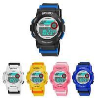 SYNOKE Waterproof Children Boys Sports Watch LED Digital Backlight Wrist Watch