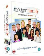 Modern Family Complete Collection 1-5 DVD Box Set All Seasons 1 2 3 4 5 UK New
