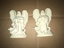2 Decorative Collectibles Heavenly White Angels Figurines Statue