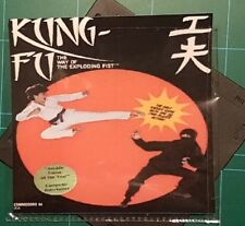 "THE WAY OF THE EXPLODING FIST :floppy disc 5,25"" GAME Commodore 64 test ok READ"