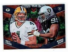 Brett Favre and Warren Sapp - 2017 Panini Vertex Nemeses #NM-4