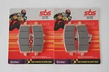SBS 841 RS PASTIGLIE sinterizzati RACING SUZUKI GSX-R 1000 750 ANTERIORI BRAKE PADS FRONT