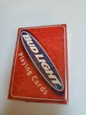 1999 Bud Light Bicycle playing cards new-sealed in plastic