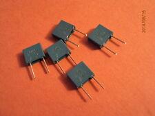 Condensador de poliéster Caja 0.1uf/63v Qty 5 de descuento