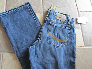 NEW SOUTHERN THREAD STILLWATER RELAXED STRAIGHT JEANS MENS 32X30  FREE SHIP!