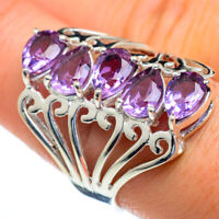 Color Change Alexandrite 925 Sterling Silver Ring Size 8.5 Jewelry R47344F