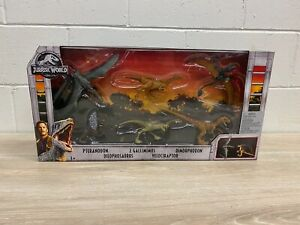 New 2018 Jurassic World  Legacy Collection Gift Set Box of Dinosaurs 6 Pack