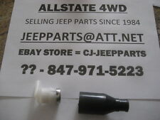 JEEP FUEL VENT VALVE & CONNECTOR, WRANGLER YJ 1987-1990 WITH 14.5 GAL TANK