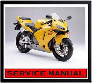 HONDA CBR600RR 2003-2008 BIKE SERVICE REPAIR MANUAL ~ DVD