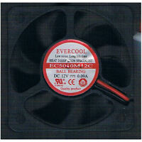 Evercool 50x10mm EC5010M12C 12V Ball Bearing Fan,4Pin