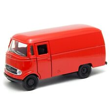 1955 Mercedes-Benz L319 Van Red Welly 1:43 Scale Toy Model Car 43755PV