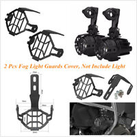 Motorcycle Left+Right Fog Light Protector Guard Cover For BMW R1200GS ADV F800GS