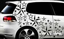 93-teiliges Sterne Star Auto Aufkleber Set Sticker 1 Tuning WANDTATTOO Blumen x