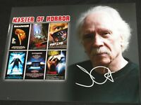 JOHN CARPENTER Signed Master of Horror 10x13 Photo Halloween BECKETT BAS COA