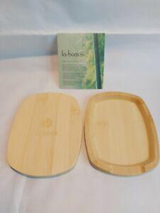 La Boos: Bamboo Spoon Rest x 2 Brand New In Box