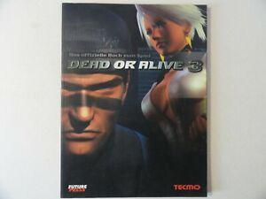 DEAD OR ALIVE 3 Das offizielle Buch zum Spiel*Sehr guter Zustand***DEUTSCH***
