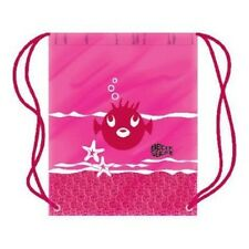 BECO Sea Life Swim Bag PINK Draw String Swimming gym Shoe Sack 36.5cm X 45cm