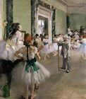 The Dance Class Edgar Degas Fine Art Print Canvas Painting Repro Giclee Small