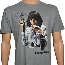 Pulp Fiction Mia Sketchh Brand New Licensed Shirt Funny Vintage Gift For Men