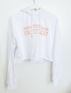 PE NATION Sweater Logo Hoodie Jumper, Size Large, EXCEL COND.