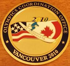 US Dept of State Consulate Gen Vancouver Canada 2010 Olympic Coordination Office