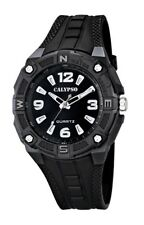 Calypso by Festina Reloj De Pulsera Para Hombre analógico negro luz 10 ATM K5634
