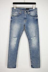 TIGER OF SWEDEN / Jeans PISTOLERO LEFTY Men's W29/L32 Ripped Slim Jeans 36762-GS