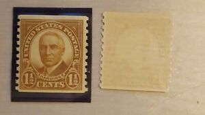 Scott 686 coil stamp 1-1/2 Harding mint never hinged Perf 10 vertical -Very fine