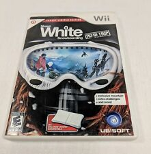 Shaun White Snowboarding Road Trip Target Limited Edition Nintendo Wii Complete