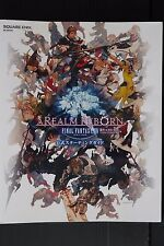 JAPAN Final Fantasy XIV: A Realm Reborn Official Starting Guide Book
