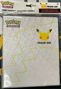 Pokemon: First Partner 25th anniversary Binder w/1 oversize card (Collector's)