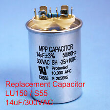 150W Oil filled Capacitor HID LU150 S55 14uF/300VAC ~~UL APPROVED~~