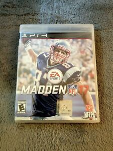 Madden NFL 17 (Sony PlayStation 3, 2016) Factory Sealed