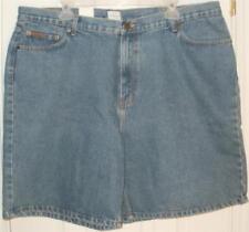 New with Tags Calvin Klein 412 Indigo Denim Jean 100% Cotton Shorts: Size 42