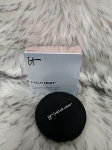 It Cosmetics~Hello Light Powder~Anti Aging Radiance Creme Luminizer~NIB