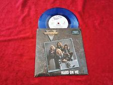 """Bonfire – Hard On Me BLUE VINYL  7"""" Vinyl"""