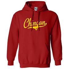 Chingon Script & Tail HOODIE - Hooded Awesome Badass Sweatshirt - All Colors