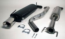 Saab 95 Turbo 2.0/2.3 Saloon/Estate Stainless Steel Jetex Half Sys 64-H5 98-01