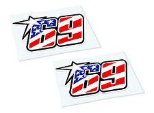 NICKY HAYDEN 69 Classic Retro Car Motorcycle Decals Stickers