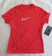 Nike Girls' Sportswear Legend Orange T-Shirt - Size S - NWT - MSRP$20.00