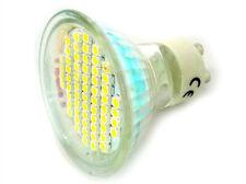 Lampada Faretto LED GU10 4W = 40W 220V Bianco Caldo Basso Consumo 60 SMD 3528