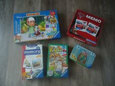Kuh & Co. Fahrzeuge Memory CARS Puzzle Meister Manny Domino Ritter Rost Spiele
