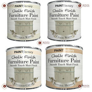 New Chalk Finish Furniture Home Paint Smooth Touch Matt Finish 250ml - 9 Colours