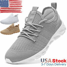 Men's Outdoor Sports Running Shoes Fashion Tennis Casual Walking Sneakers Gym