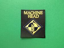 HEAVY METAL PUNK ROCK MUSIC FESTIVAL SEW ON / IRON ON PATCH:- MACHINE HEAD