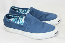 Womens Converse Jack Purcell Slip On Sneaker - Navy Blue White 7US (S77)