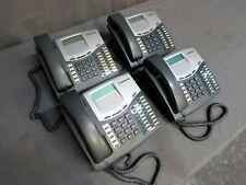 Lot of 4 Inter-Tel 8520 LCD Display Business Phones