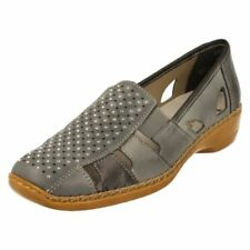 Round Toe 100% Leather Casual Flats for Women